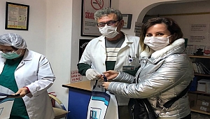 Çanakkale Valiliği'nden maske dağıtımı