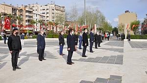 Cumhuriyet Meydanı'nda 23 Nisan töreni