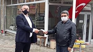 Geyikli'de vatandaşlara ücretsiz maske