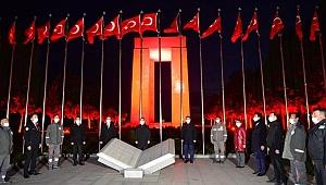 Şehitler Abidesi'nde İstiklal Marşı