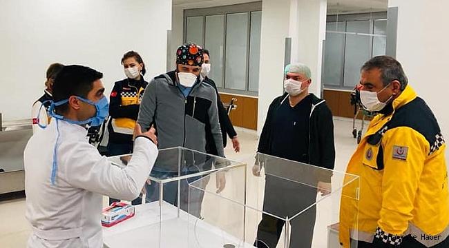 Taşçı hastaneleri inceledi