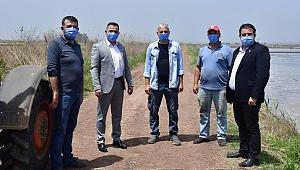 Başkan Erdoğan'dan çiftçilere ziyaret