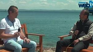 "Başkan Yılmaz; ""Hayalim 12 ay insanların mutlu olduğu bir ada"""