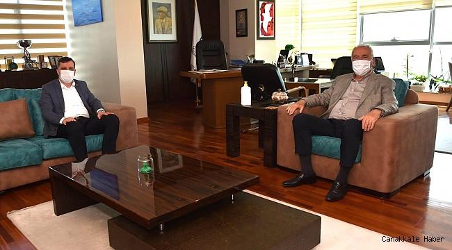 Ceylan'dan Başkan Gökhan'a ziyaret