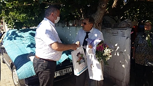 Ezine'de bayramlaşma ziyaretleri