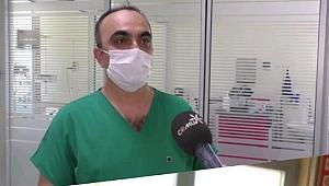 İki hastaya immün plazma tedavisi
