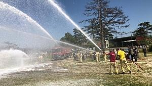 Orman yangınlarıyla mücadele eğitimi