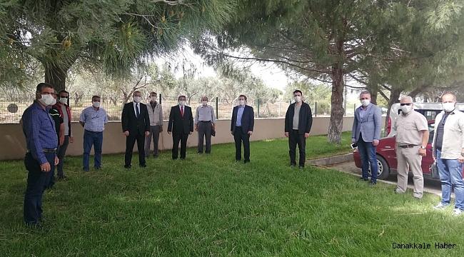 Tavlı'dan Sulama Birliği'ne ziyaret