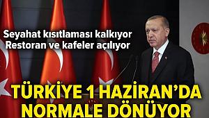 Türkiye normale dönüyor