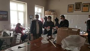 Yenice'de toplam 98 bin 925 maske dağıtıldı