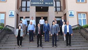 AK Parti'den veda ziyareti