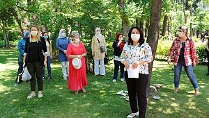 AK Partili kadınlardan anlamlı kampanya