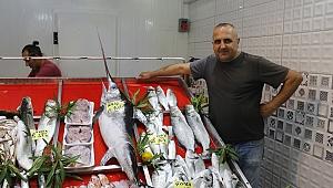Babakale'de kılıç balığı yakalandı