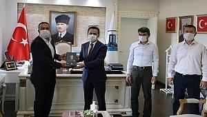 Başkan Can'dan Vali Aktaş'a ziyaret