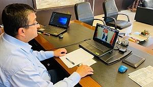 Başkan Öz, Kılıçdaroğlu'na önlemleri anlattı