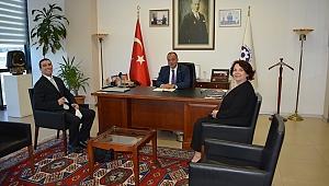 Başkan Semizoğlu, rüzgâr enerji yatırımları hakkında bilgi aldı