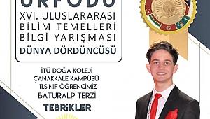 Baturalp Terzi'den önemli başarı