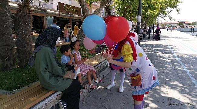 Belediyeden çocuklara hediye…
