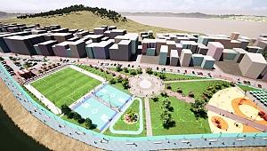 Biga'nın prestij projesi Adapark başladı