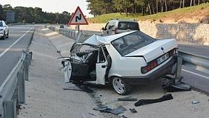 Bir yılda 1467 trafik kazası