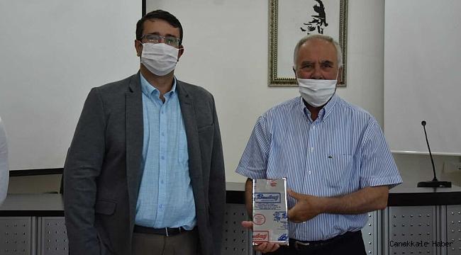 CHP Biga Teşkilatı'ndan Başkan Gökhan'a ziyaret