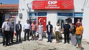 CHP'li Ural Gökçeada'daydı