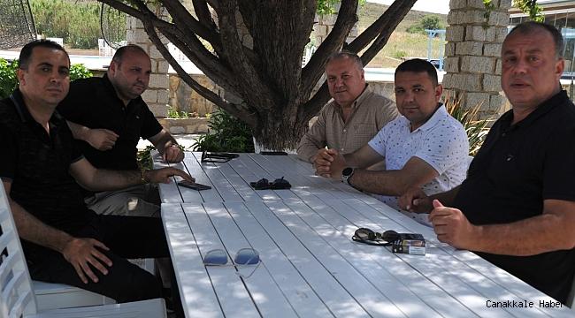 ÇTSO Yönetim Kurulu Bozcaada'da