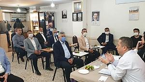 Esnaf Başkanları toplandı