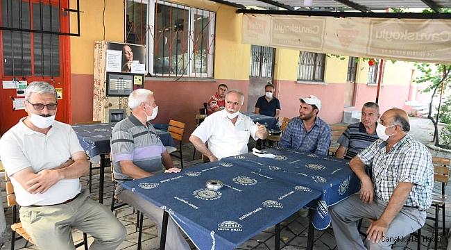 Gökhan'dan köylere ziyaret