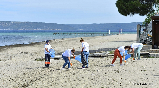 Güzelyalı'da sahiller temizlendi