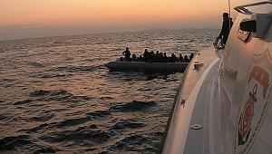 Kaçak göçmenler kurtarıldı