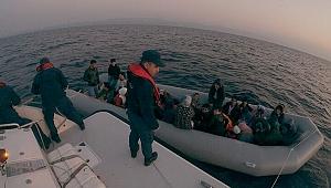 Kaçak göçmenleri sahil güvenlik kurtardı