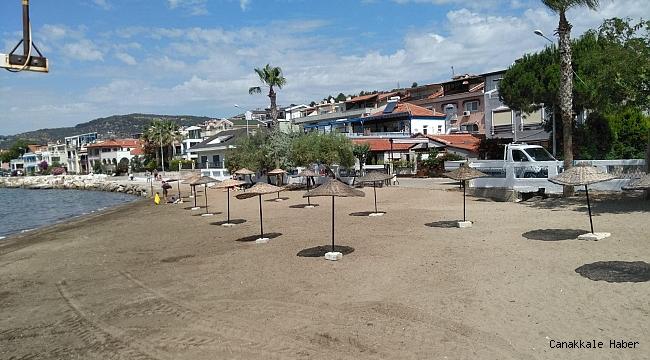 Küçükkuyu'da plaj temizliği…