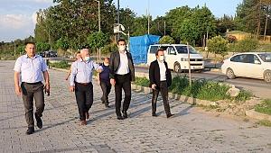 Lapseki'de feribot yolu asfaltlanacak