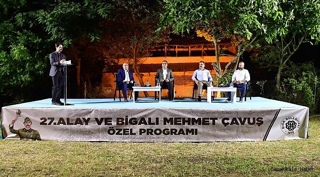 Biga'da özel program