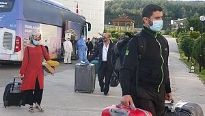 Pandemi sürecinde 908 kişi misafir edildi