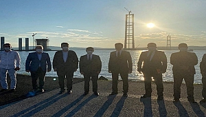 Vali Aktaş'a köprü brifingi…