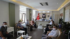 Vali Aktaş esnaf temsilcilerini ağırladı