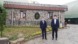 Vali Aktaş'tan Teknopark incelemesi