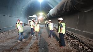 Vali Aktaş, tünel çalışmalarını inceledi