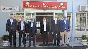 Vali Tavlı'dan Karabiga'ya ziyaret