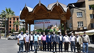 Ayasofya'daki heyecan Biga'da da yaşandı