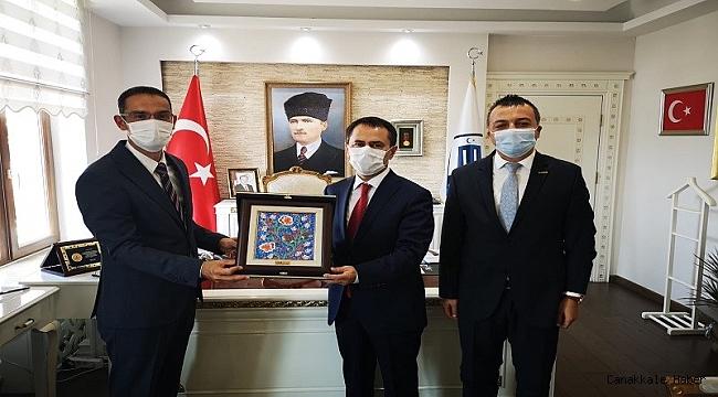 Aytaç'tan Vali Aktaş'a 'hayırlı olsun' ziyareti