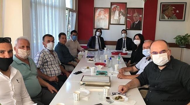 Başkan Makas'tan MHP'ye ziyaret