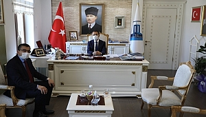 Başkan Öz'den Vali Aktaş'a ziyaret