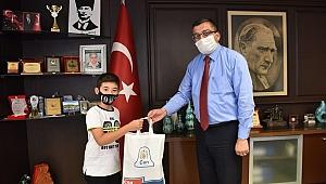 Başkan Öz Türkiye 1.'sini tebrik etti