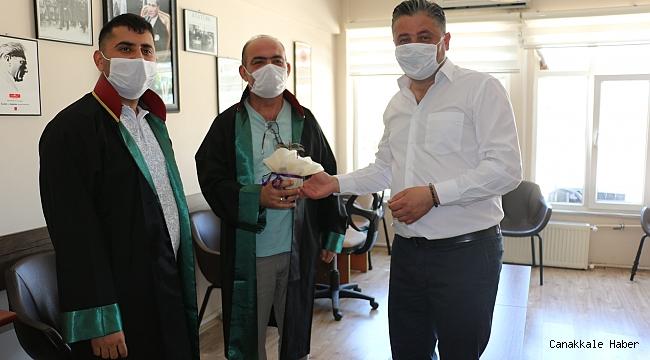 Başkan Uygun, hukukçuları kutladı