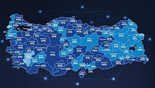 Çanakkale'de data kullanımı yüzde 39 arttı