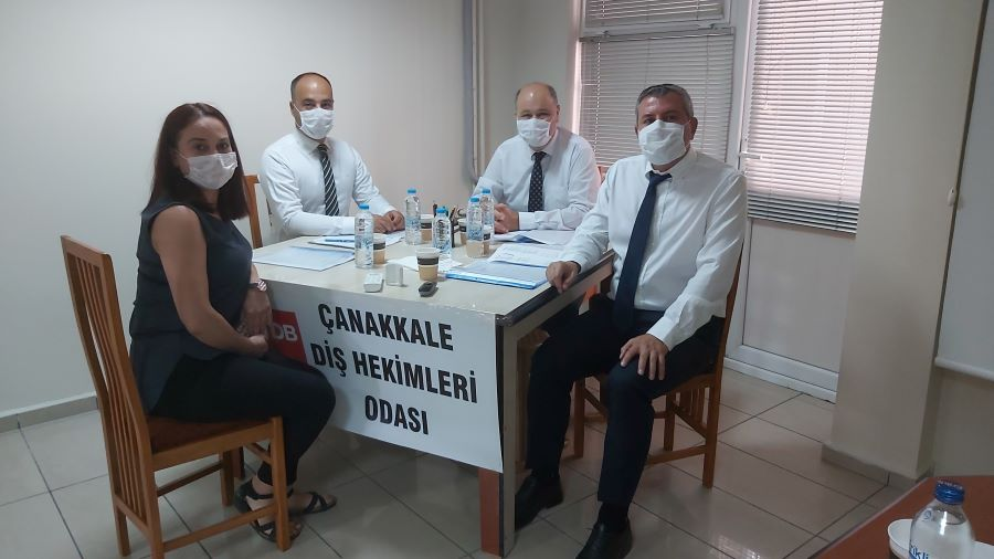 Çanakkale Diş Hekimleri Odası'nın olağan genel kurulu gerçekleşti