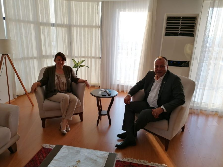 ÇTSO Başkanı Semizoğlu'ndan İskenderoğlu'na ziyaret